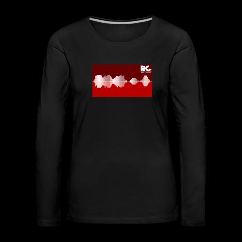 Amplitude Edition - Frauen Premium Langarmshirt