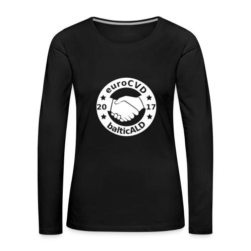 Joint EuroCVD-BalticALD conference womens t-shirt - Women's Premium Longsleeve Shirt