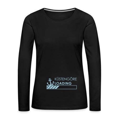 Küstengöre loading - Frauen Premium Langarmshirt