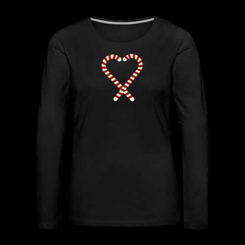 Zuckerstange - Frauen Premium Langarmshirt