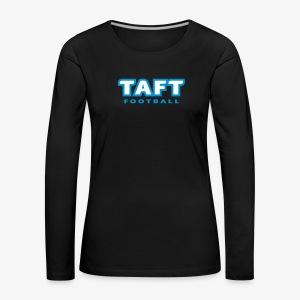 4769739 124019410 TAFT Football orig - Naisten premium pitkähihainen t-paita