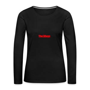 The3Boys Merchandise - Women's Premium Longsleeve Shirt