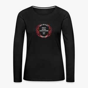 Infinight College clean red hell - Frauen Premium Langarmshirt