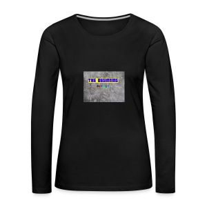 The Beginning - Women's Premium Longsleeve Shirt