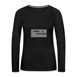 Connor McCutcheon Logo - Women's Premium Longsleeve Shirt
