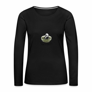 Man-in-pesto - Women's Premium Longsleeve Shirt