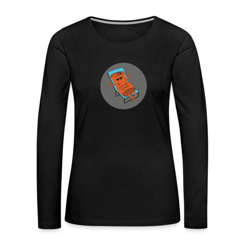 Festivalpodden - Loggan - Långärmad premium-T-shirt dam