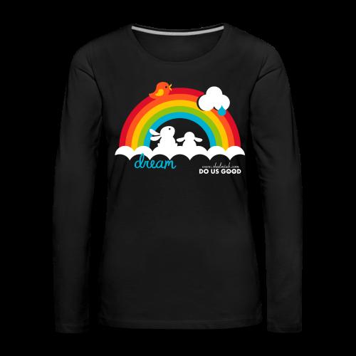 DREAM - Naisten premium pitkähihainen t-paita