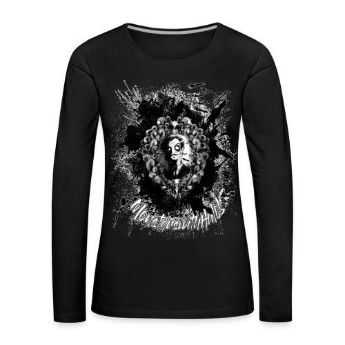 The Abominable Vincent Price - Women's Premium Longsleeve Shirt