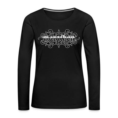 Gothic Marathon Metal - Frauen Premium Langarmshirt