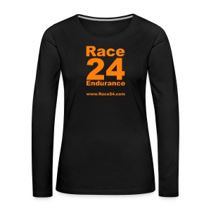 Race24 Large Logo - Women's Premium Longsleeve Shirt