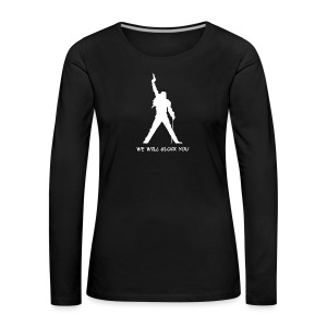 WE WILL GLOCK YOU - Frauen Premium Langarmshirt