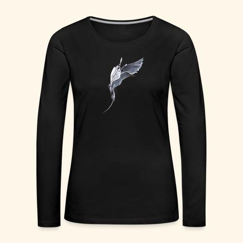 Weißschwanz Tropenvogel - Frauen Premium Langarmshirt