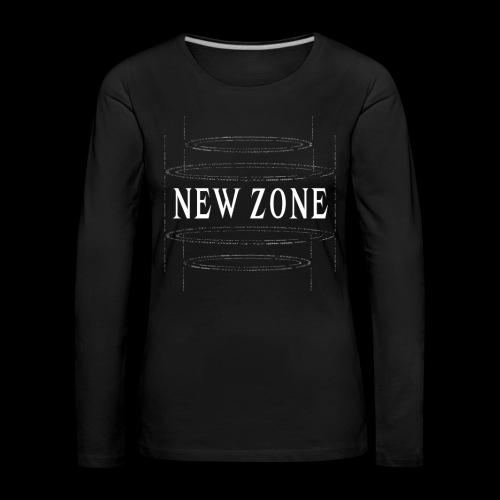 New Zone White - Women's Premium Longsleeve Shirt