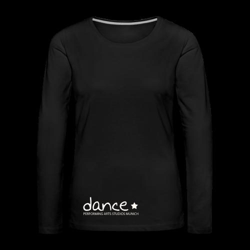 Dance *weiß* - Frauen Premium Langarmshirt