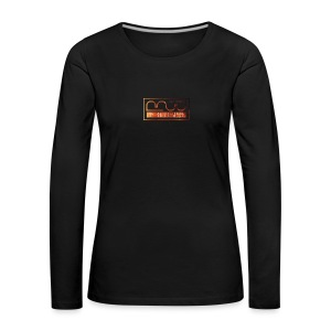 Cap logo Orange - Women's Premium Longsleeve Shirt