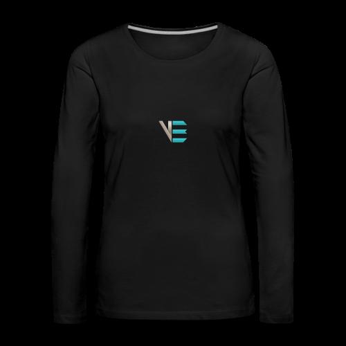 Standard-Logo - Frauen Premium Langarmshirt