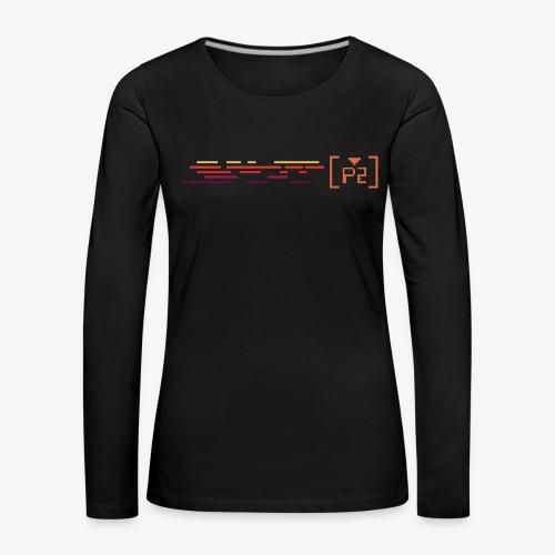 player 2 - Camiseta de manga larga premium mujer