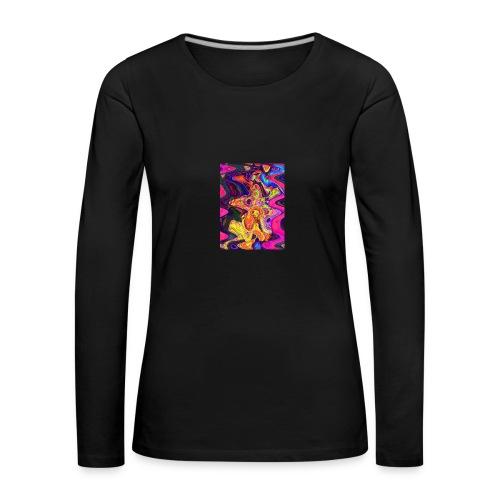 1 F 2 - Frauen Premium Langarmshirt