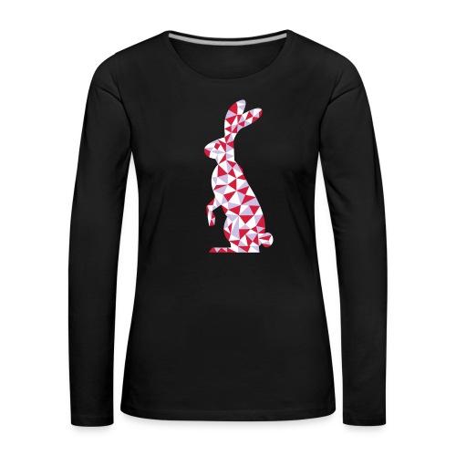 Hase - Frauen Premium Langarmshirt