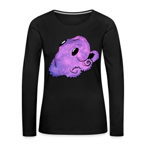 Kawaii octopus - Women's Premium Longsleeve Shirt
