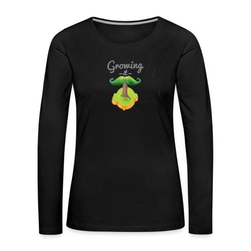Moustache tree - Women's Premium Longsleeve Shirt