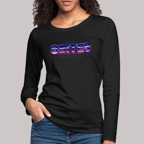 8Bites retro - Women's Premium Longsleeve Shirt