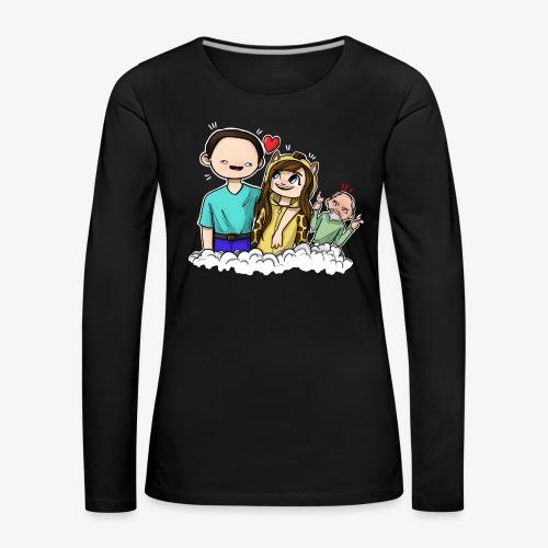 *Limited Edition* Esmee ❤️ Teun (Boze vader) - Vrouwen Premium shirt met lange mouwen