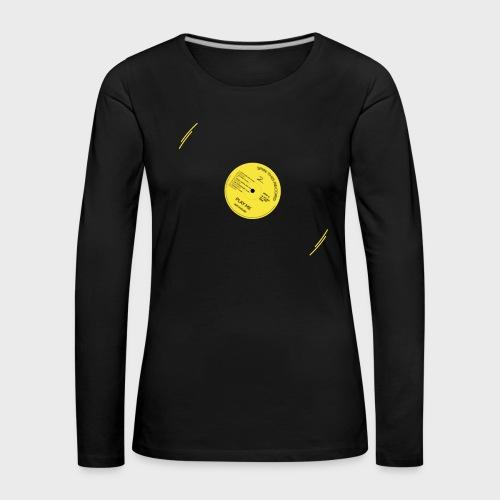 T-Record - Classic Elpee Design - Vrouwen Premium shirt met lange mouwen