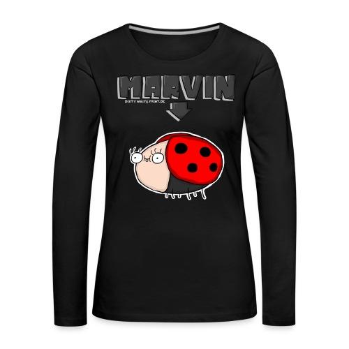 MARVIN shirt png - Frauen Premium Langarmshirt