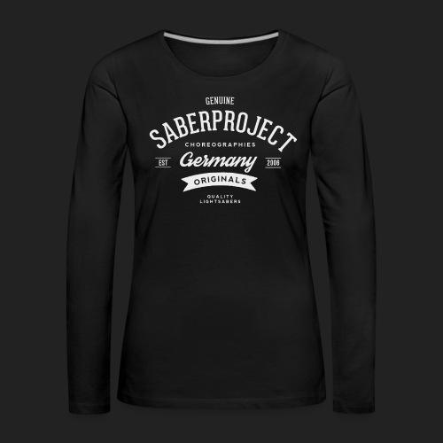SP Originals - weiß - Frauen Premium Langarmshirt