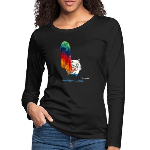 NOR 0001 00 ice ice baby - Frauen Premium Langarmshirt