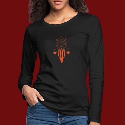 Praetorate - Large Back - Women's Premium Longsleeve Shirt