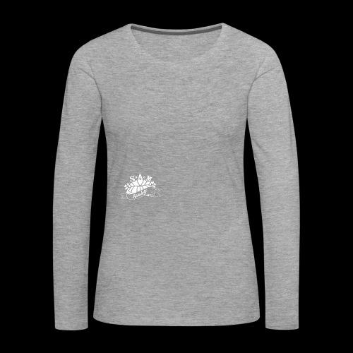 SamShaky - Naisten premium pitkähihainen t-paita