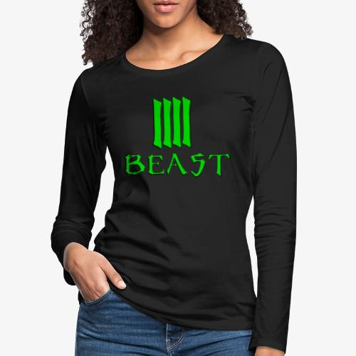 Beast Green - Women's Premium Longsleeve Shirt