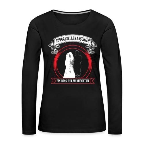 Help ME - Frauen Premium Langarmshirt