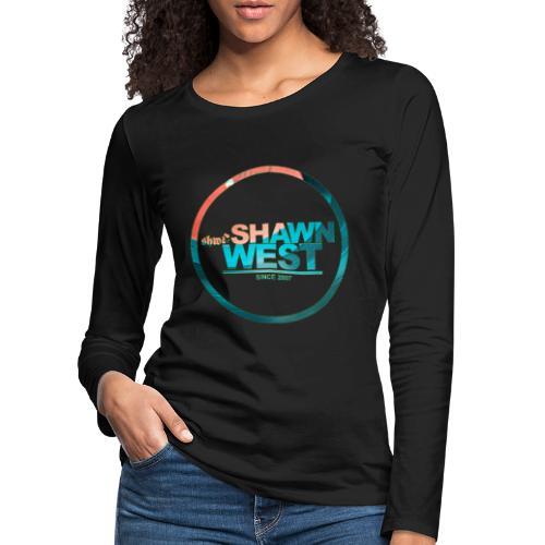 SHAWN WEST DISC JOKEY STYLE - Frauen Premium Langarmshirt