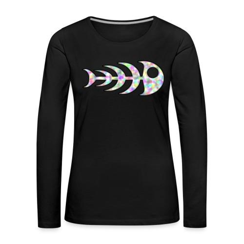 fish legs in rainbow colors - Women's Premium Longsleeve Shirt