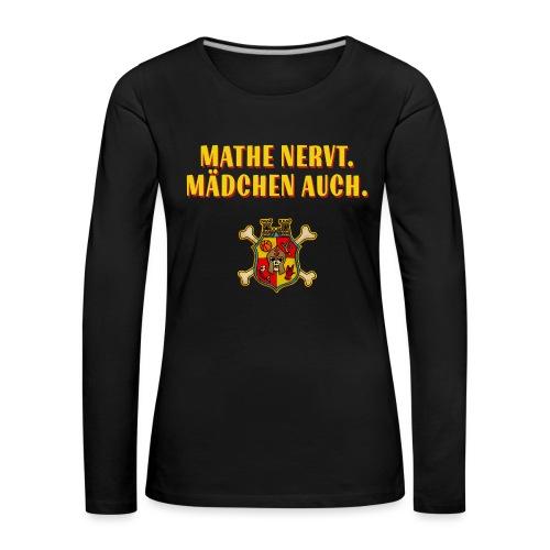 Wappen - Frauen Premium Langarmshirt
