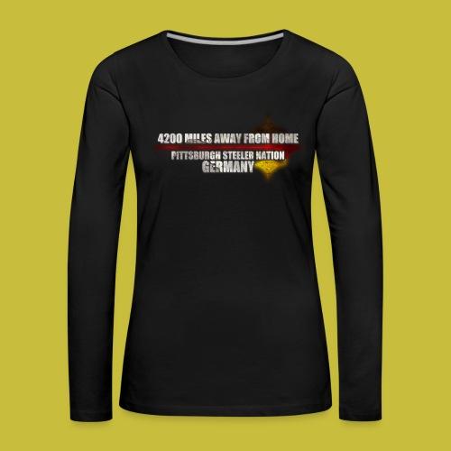 shirt14 - Frauen Premium Langarmshirt