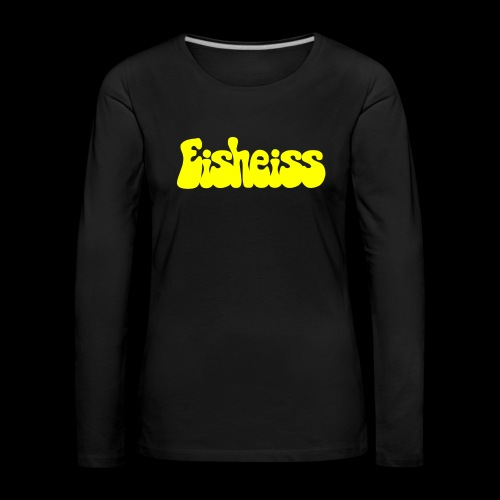 Eisheiss - Gelb - Frauen Premium Langarmshirt