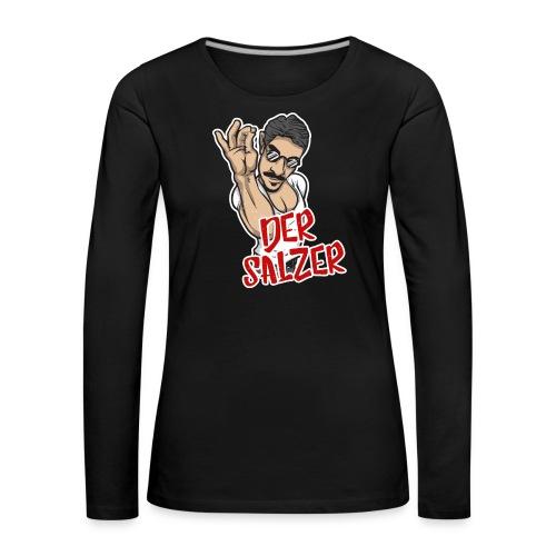 Der Salzer | Grillmeister Tshirt - Frauen Premium Langarmshirt