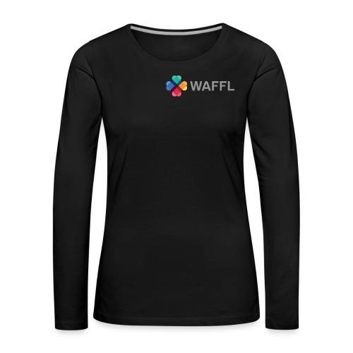 WAFFL_IMAGE_LOGO_NO_BG (3 - Women's Premium Longsleeve Shirt