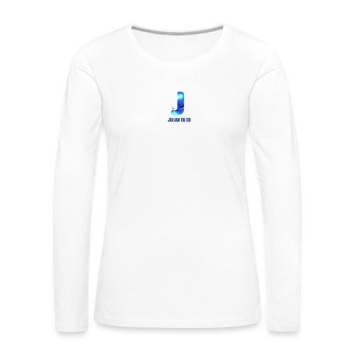 JULIAN EN CO MERCH - Vrouwen Premium shirt met lange mouwen
