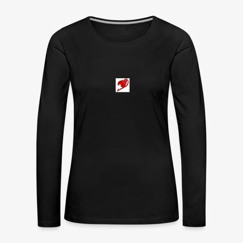 logo fairy tail - T-shirt manches longues Premium Femme