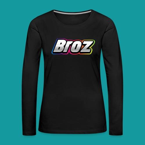 Broz - Vrouwen Premium shirt met lange mouwen