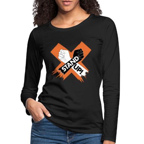 StandUpX - Women's Premium Longsleeve Shirt
