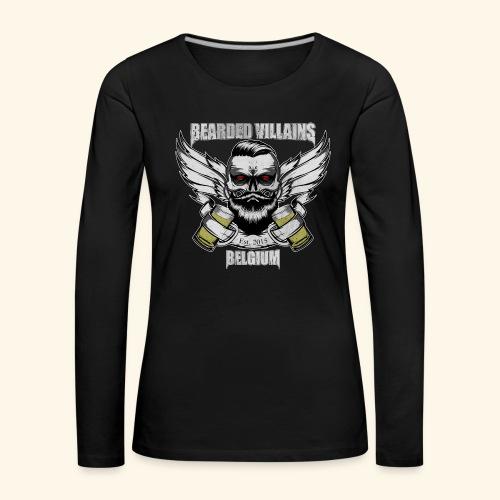 Bearded Villains Belgium - Women's Premium Longsleeve Shirt