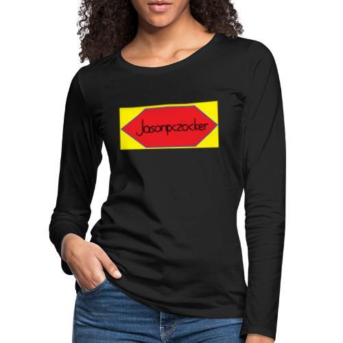 Jasonpczocker Design für gelbe Sachen - Frauen Premium Langarmshirt