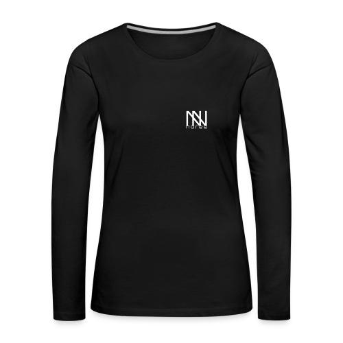 noree merch - Långärmad premium-T-shirt dam